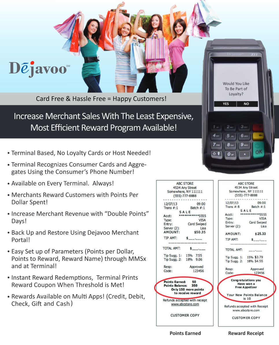 Payment Terminals - Dejavoo Wireless Terminals - Brand Camp
