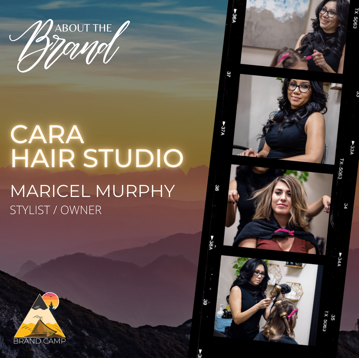 about the brand - cara hair studio